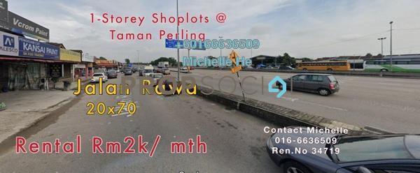 Office For Rent in Taman Perling, Iskandar Puteri (Nusajaya) Freehold Semi Furnished 0R/0B 2k