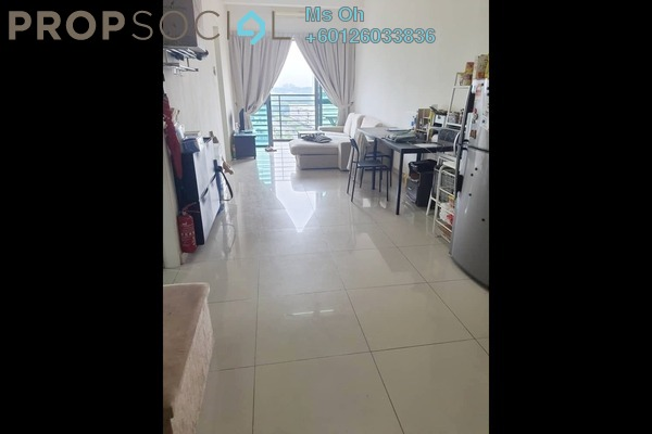 Serviced Residence For Rent in D'Pulze Residence, Cyberjaya Freehold Semi Furnished 2R/2B 1.3k