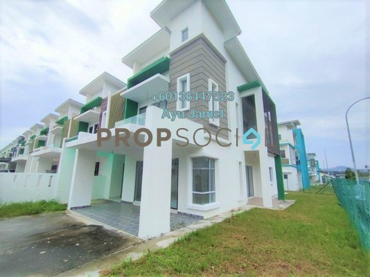 Terrace For Sale in The Clover Homes @ Laman Semanggi, Semenyih Freehold Unfurnished 4R/4B 650k