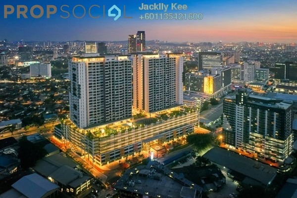 Serviced Residence For Sale in PJ Midtown, Petaling Jaya Freehold Fully Furnished 2R/2B 800k