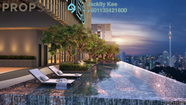 Condominium For Sale in Axon, Bukit Bintang Freehold Fully Furnished 3R/2B 950k