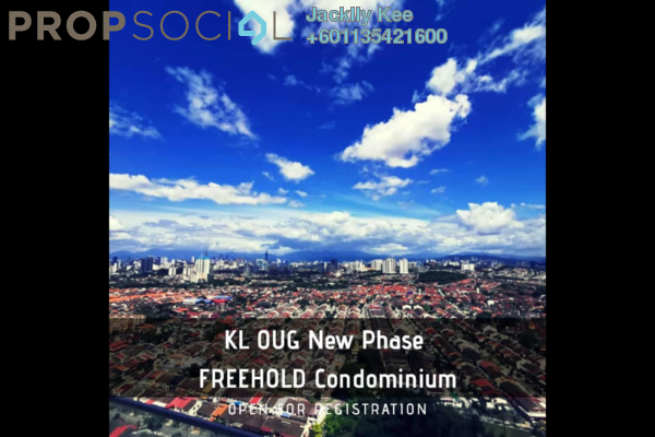 Condominium For Sale in Tria Residences @ 9 Seputeh, Old Klang Road Freehold Semi Furnished 4R/3B 1.45m