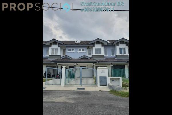 Terrace For Sale in Idaman Warisan, Alam Perdana Leasehold Semi Furnished 4R/3B 425k