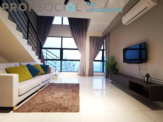 Serviced Residence For Rent in Arte Mont Kiara, Dutamas Freehold Fully Furnished 2R/1B 3.5k