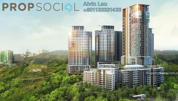 Condominium For Sale in Ion Delemen, Genting Highlands Freehold Fully Furnished 1R/1B 720k