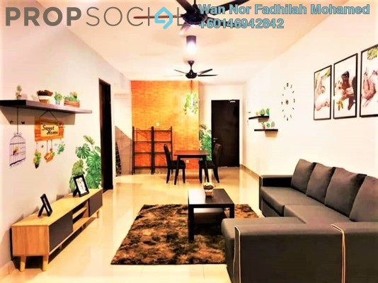 Condominium For Sale in Symphony Tower, Balakong Freehold Fully Furnished 3R/2B 640k