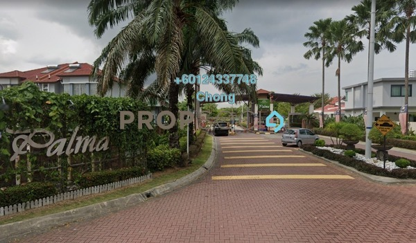 Semi-Detached For Sale in Kemuning Utama Palma, Kemuning Utama Freehold Unfurnished 4R/3B 912k