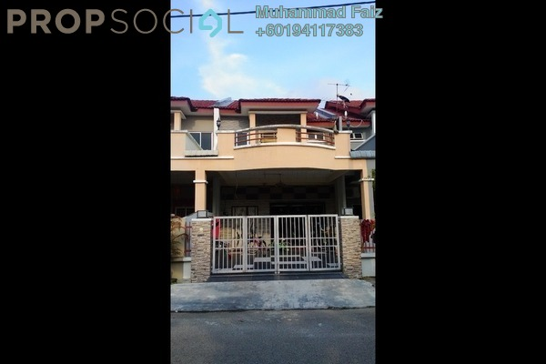 Terrace For Sale in Taman Impian Indah, Bukit Minyak Freehold Semi Furnished 4R/3B 495k