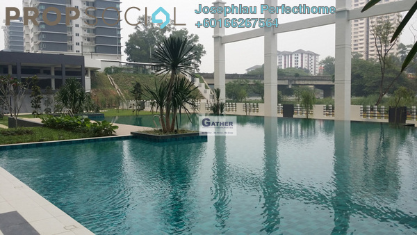 Condominium For Rent in Kiara Residence 2, Bukit Jalil Freehold Fully Furnished 3R/2B 2.4k