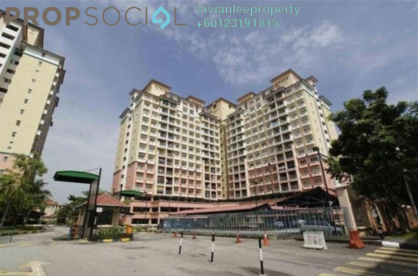 Apartment For Sale in Arena Green, Bukit Jalil Freehold Semi Furnished 3R/2B 340k