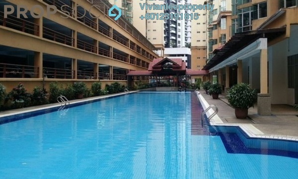 Apartment For Sale in Sri Jati II, Old Klang Road Freehold Semi Furnished 3R/2B 450k
