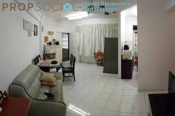 Condominium For Sale in Jade View, Bukit Gambier Freehold Semi Furnished 3R/2B 310k