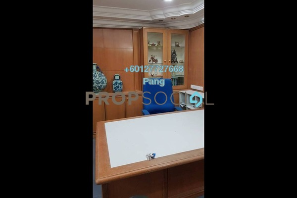 Office For Rent in Megan Avenue 2, KLCC Freehold Semi Furnished 0R/0B 5.5k