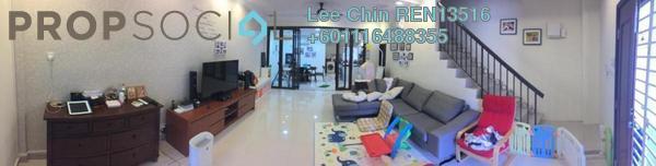 Terrace For Sale in Taman Damai Impian 2, Bandar Damai Perdana Freehold Semi Furnished 3R/3B 788k