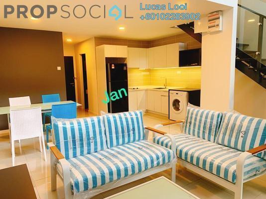 Duplex For Rent in D'Latour, Bandar Sunway Freehold Fully Furnished 3R/2B 2.7k