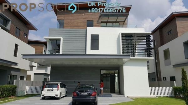 Bungalow For Sale in Long Branch Residences @ HomeTree, Kota Kemuning Freehold Unfurnished 6R/8B 2.5m