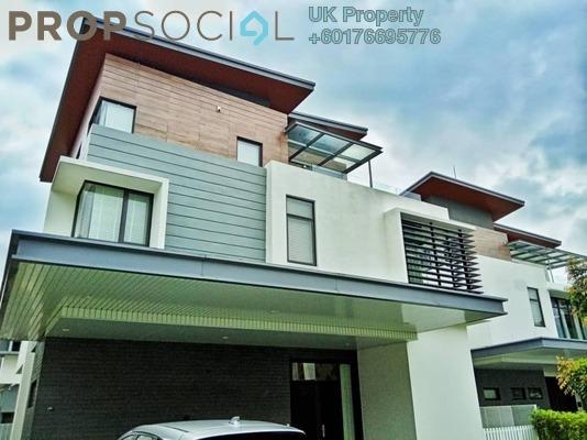 Bungalow For Sale in Long Branch Residences @ HomeTree, Kota Kemuning Freehold Fully Furnished 6R/8B 2.98m