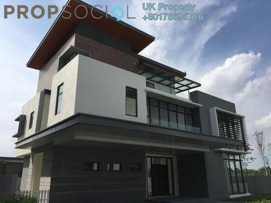 Bungalow For Sale in Long Branch Residences @ HomeTree, Kota Kemuning Freehold Unfurnished 6R/8B 3m