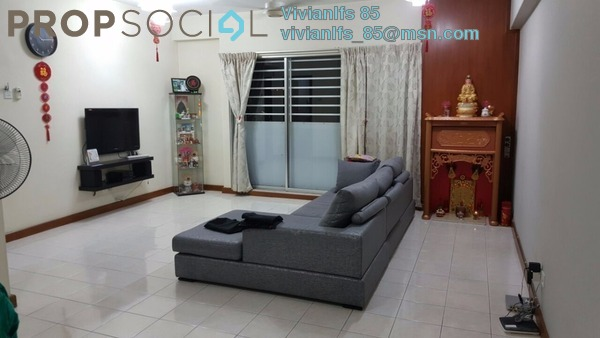 Condominium For Sale in Prima Tiara 1, Segambut Freehold Fully Furnished 3R/2B 423k
