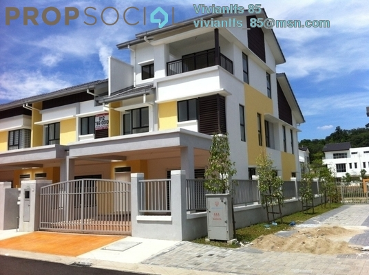 Terrace For Sale in Sutera Ria @ Sutera Damansara, Damansara Damai Leasehold Semi Furnished 5R/4B 1.1m