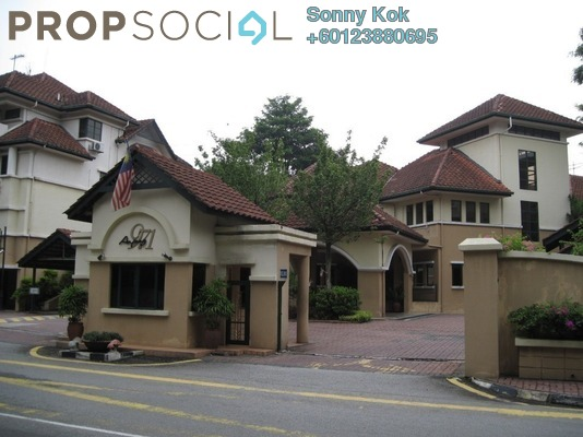 Townhouse For Rent in Ampang 971, Ampang Hilir Freehold Fully Furnished 4R/4B 3.5k