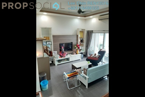Terrace For Sale in The Oasis, Cheras South Freehold Semi Furnished 5R/4B 998k