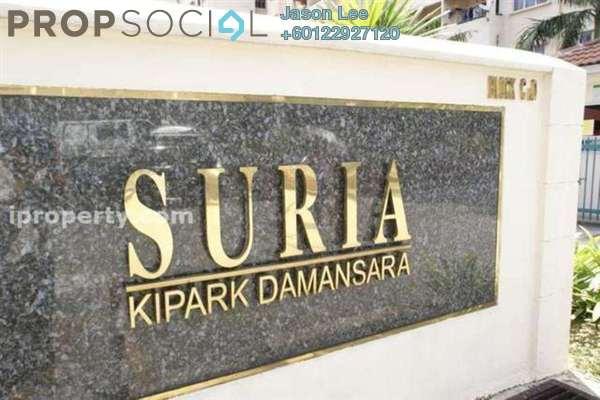 Apartment For Sale in Suria KiPark Damansara, Kepong Freehold Semi Furnished 3R/2B 290k