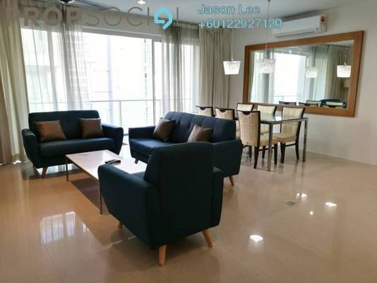 Condominium For Rent in Bintang Goldhill, KLCC Freehold Fully Furnished 3R/2B 3.5k