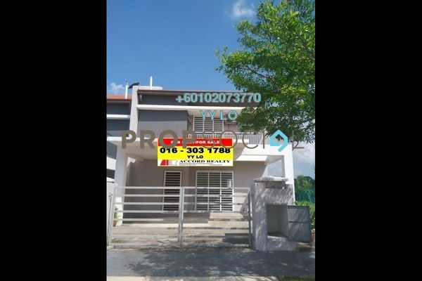 Terrace For Rent in Aman Putri, Sungai Buloh  Semi Furnished 4R/3B 1.2k