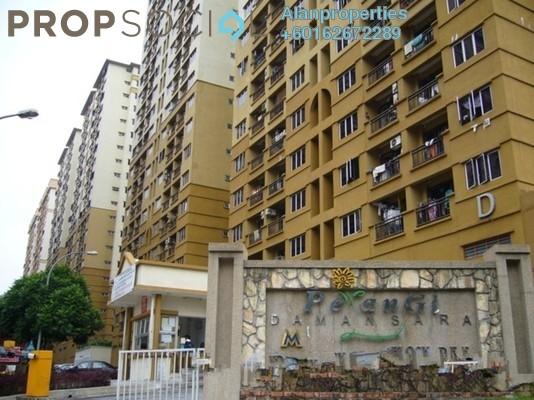 Apartment For Rent in Pelangi Damansara, Bandar Utama Freehold Unfurnished 3R/2B 1k