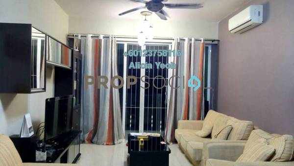 Condominium For Sale in The Zest, Bandar Kinrara Freehold Fully Furnished 3R/2B 550k