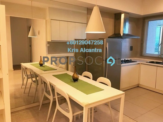 Condominium For Rent in Kiaraville, Mont Kiara Freehold Fully Furnished 2R/2B 3k