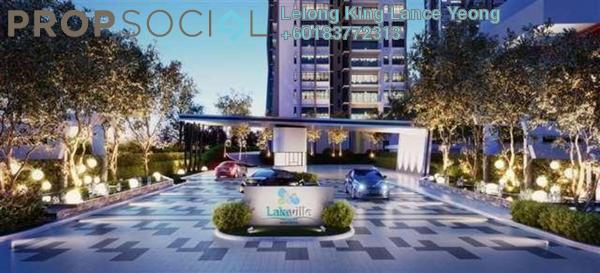 Apartment For Sale in Lakeville Residence, Jalan Ipoh Freehold Unfurnished 3R/2B 438k