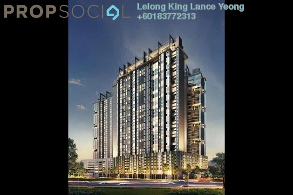 Serviced Residence For Sale in M City, Ampang Hilir Freehold Unfurnished 0R/0B 548k