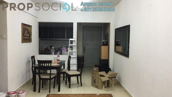 Condominium For Rent in Fortune Park, Seri Kembangan Freehold Semi Furnished 3R/2B 1.7k