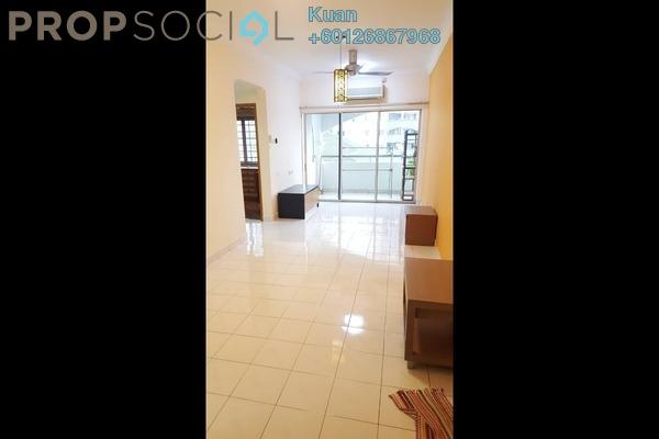 Apartment For Rent in Suria KiPark Damansara, Kepong Freehold Semi Furnished 3R/2B 1.1k