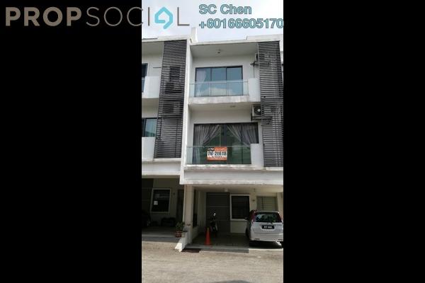 Terrace For Rent in D'Residency, Bandar Utama Leasehold Semi Furnished 4R/4B 2.5k
