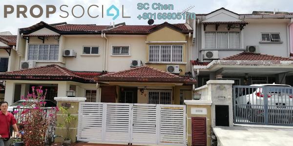 Terrace For Rent in Taman Puncak Jalil, Bandar Putra Permai Leasehold Semi Furnished 4R/3B 1.5k