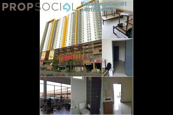 Condominium For Rent in MesaHill, Putra Nilai Freehold Semi Furnished 2R/1B 1.2k