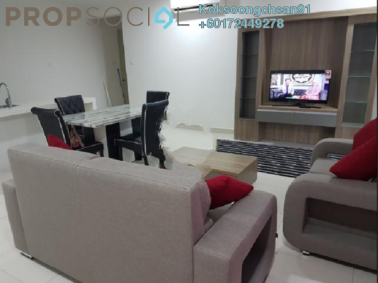 Condominium For Rent in Cristal Residence, Cyberjaya Freehold Fully Furnished 4R/3B 2.3k