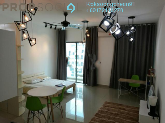 Condominium For Rent in CyberSquare, Cyberjaya Freehold Fully Furnished 1R/1B 1.3k