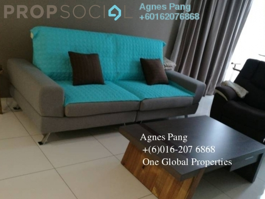 Condominium For Rent in Taman Skudai Baru, Skudai Freehold Fully Furnished 3R/3B 2.8k