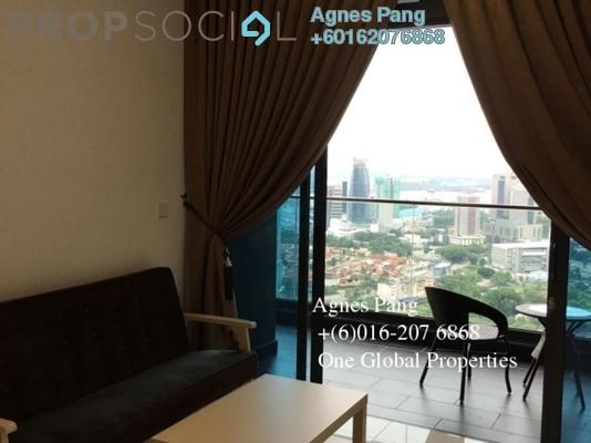 Condominium For Rent in Setia Sky 88, Johor Bahru Freehold Semi Furnished 3R/2B 3.2k