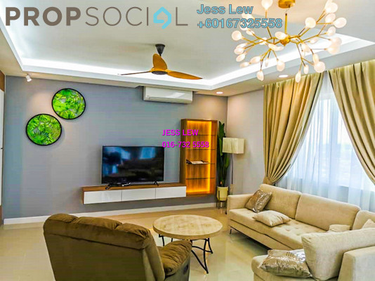 Condominium For Rent in Le Yuan Residence, Kuchai Lama Freehold Fully Furnished 6R/6B 13.5k