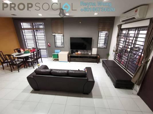 Terrace For Sale in Setia Indah, Tebrau Freehold Semi Furnished 4R/3B 620k