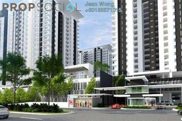 Condominium For Sale in Paragon 3, Bandar Putra Permai Freehold Semi Furnished 3R/2B 1m