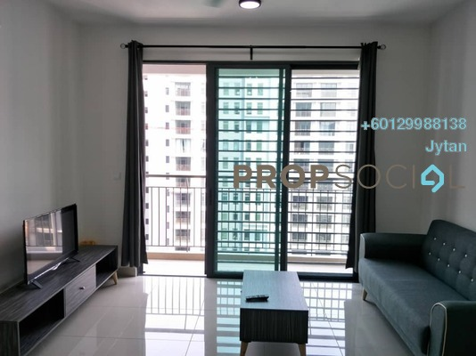 Condominium For Rent in The Henge Residence, Kepong Freehold Semi Furnished 3R/2B 1.15k