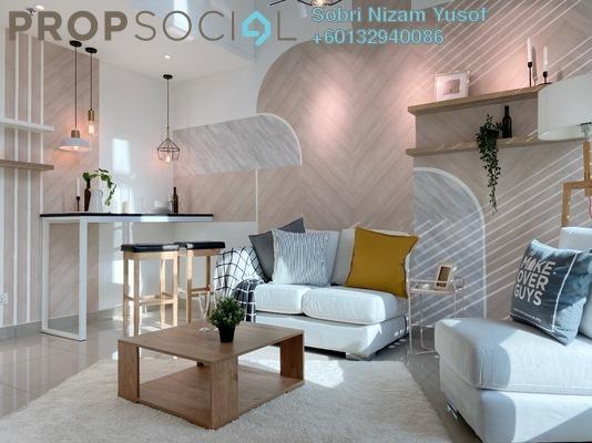 Serviced Residence For Sale in Mutiara Ville, Cyberjaya Freehold Semi Furnished 3R/2B 352k