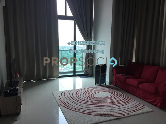 Serviced Residence For Sale in The Leafz, Sungai Besi Freehold Semi Furnished 2R/2B 790k