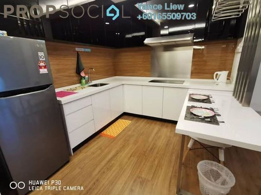 Condominium For Sale in Symphony Tower, Balakong Freehold Fully Furnished 1R/1B 302k